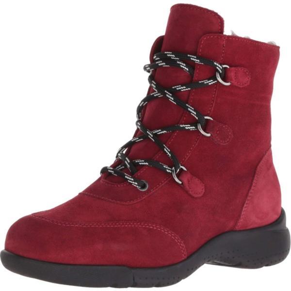 ラ カナディアン La Canadienne レディース ブーツ シューズ・靴 Nicole Red Suede/Shearling Lined