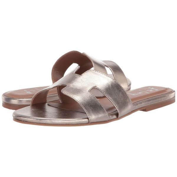 フレンチソール French Sole レディース サンダル・ミュール シューズ・靴 Alibi Sandal Platino Metallic Nappa