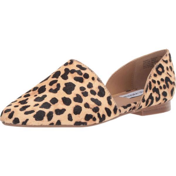 スティーブ マデン Steve Madden レディース スリッポン・フラット シューズ・靴 Talent-L Flat Leopard