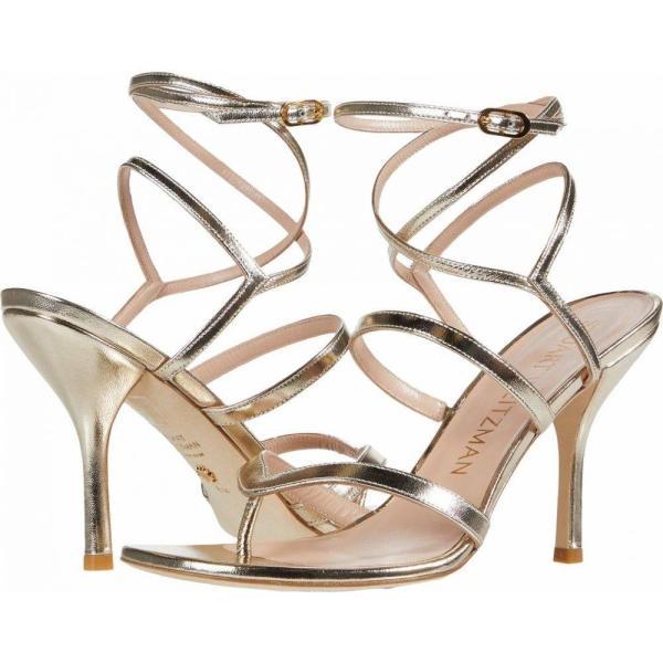 スチュアート ワイツマン Stuart Weitzman レディース サンダル?ミュール シューズ?靴 Julina 95 Platino Metallic Nappa|fermart-shoes|01