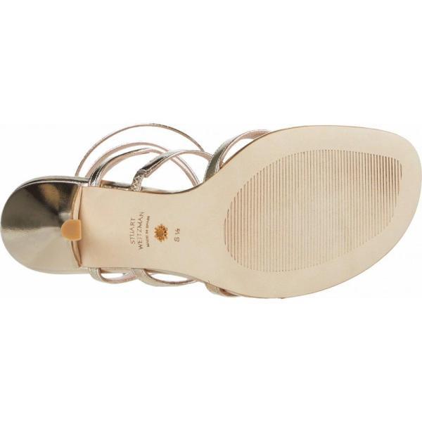 スチュアート ワイツマン Stuart Weitzman レディース サンダル?ミュール シューズ?靴 Julina 95 Platino Metallic Nappa|fermart-shoes|04