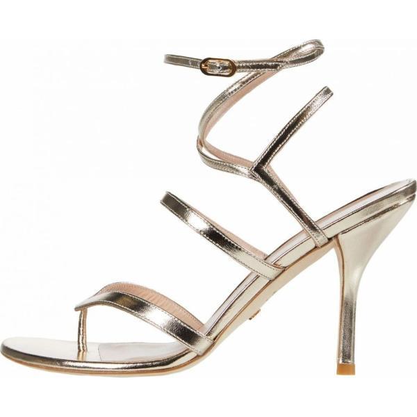 スチュアート ワイツマン Stuart Weitzman レディース サンダル?ミュール シューズ?靴 Julina 95 Platino Metallic Nappa|fermart-shoes|05