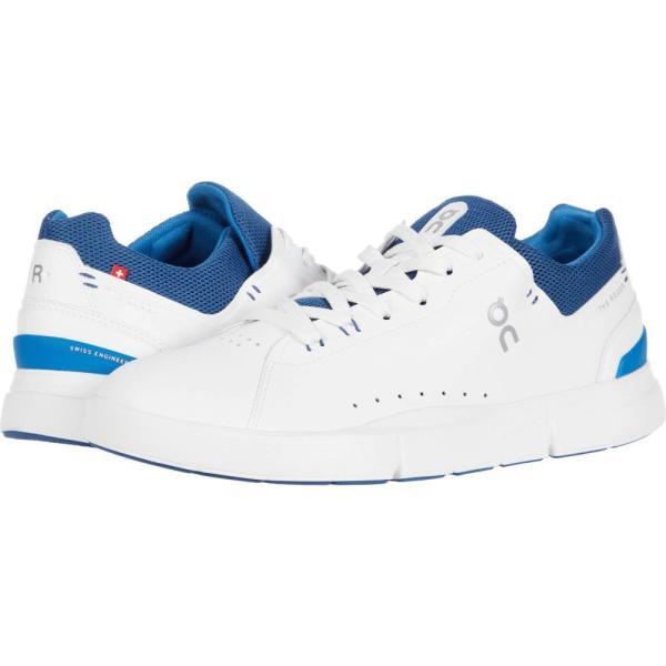 オン On メンズ ランニング・ウォーキング シューズ・靴 The Roger Advantage White/Cobalt