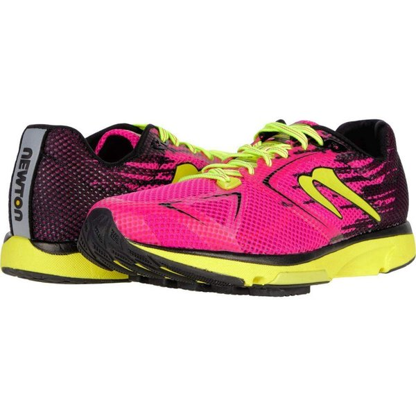 ニュートンランニング Newton Running レディース ランニング・ウォーキング シューズ・靴 Distance S 10 Pink/Black