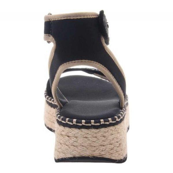 オーティービーティー OTBT レディース エスパドリーユ シューズ・靴 Reflector Espadrille Sandal Black Leather/Fabric