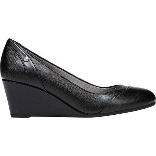 ライフストライド レディース ローファー・オックスフォード シューズ・靴 Dreams Wedge Black Polyurethane