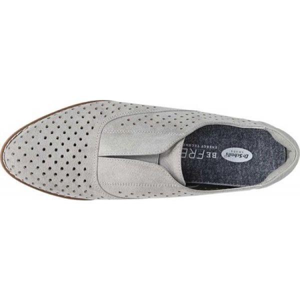 ドクター ショール Dr. Scholl's レディース スリッポン・フラット シューズ・靴 Improved Slip On Grey Microfiber
