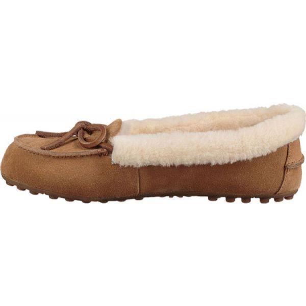 アグ UGG レディース ローファー・オックスフォード シューズ・靴 Solana Loafer Chestnut Suede