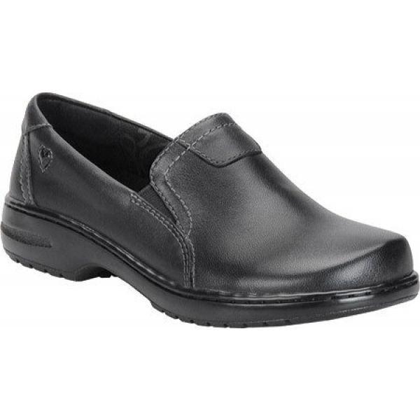 ナースメイト Nurse Mates レディース スリッポン・フラット シューズ・靴 Meredith Slip On Black