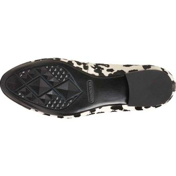 エアロソールズ Aerosoles レディース スリッポン・フラット シューズ・靴 Outrun Cap Toe Flat Bone Multi Leather
