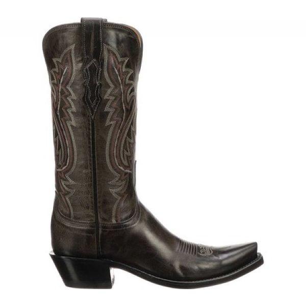 ルケーシー Lucchese Bootmaker レディース ブーツ シューズ・靴 Cassidy S5 Toe Western Boot Anthracite Madras Goat