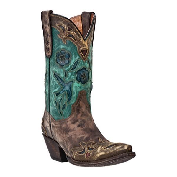 ダンポスト Dan Post Boots レディース シューズ・靴 ブーツ Vintage Blue Bird DP3544 Sanded Chocolate Leather