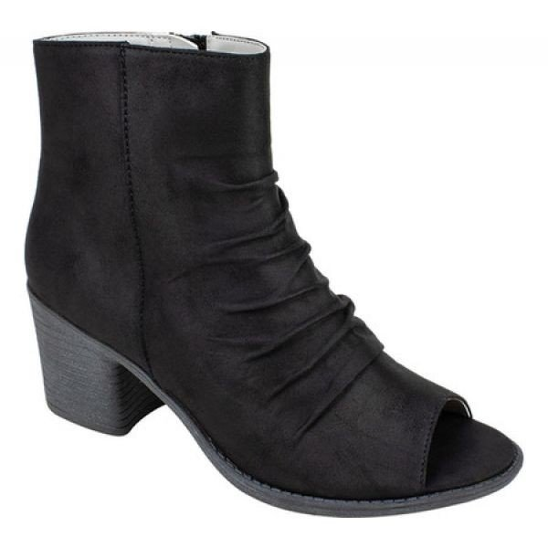 セブン ダイアルズ Seven Dials レディース ブーツ シューズ・靴 Brinson Open Toe Bootie Black Fabric