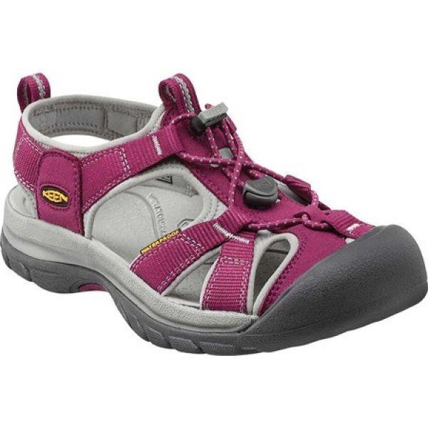 キーン Keen レディース シューズ・靴 Venice H2 Beet Red/Neutral Gray