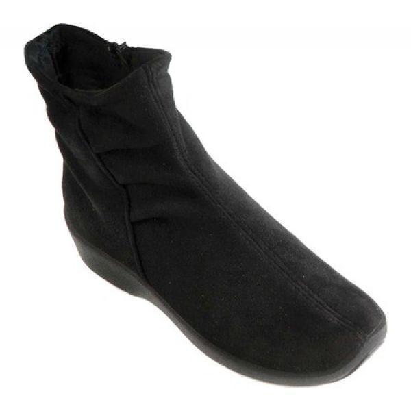 アルコペディコ Arcopedico レディース ブーツ シューズ・靴 L19 Vegan Bootie Black Suede Lytech