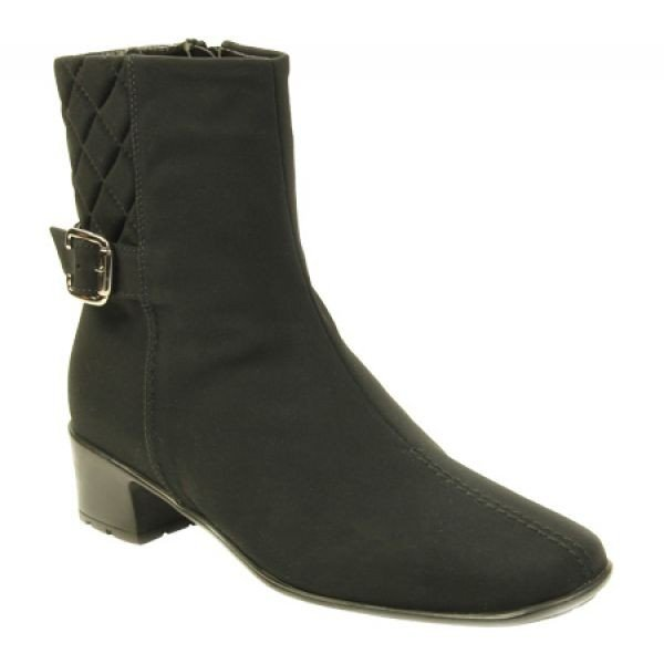 セスト メウッチ Sesto Meucci レディース ブーツ シューズ・靴 York Boot Black Micro Fabric