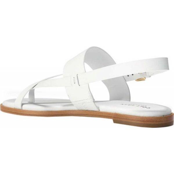 コールハーン Cole Haan レディース ビーチサンダル シューズ・靴 G.Os Anica Thong Sandal Optic White Leather