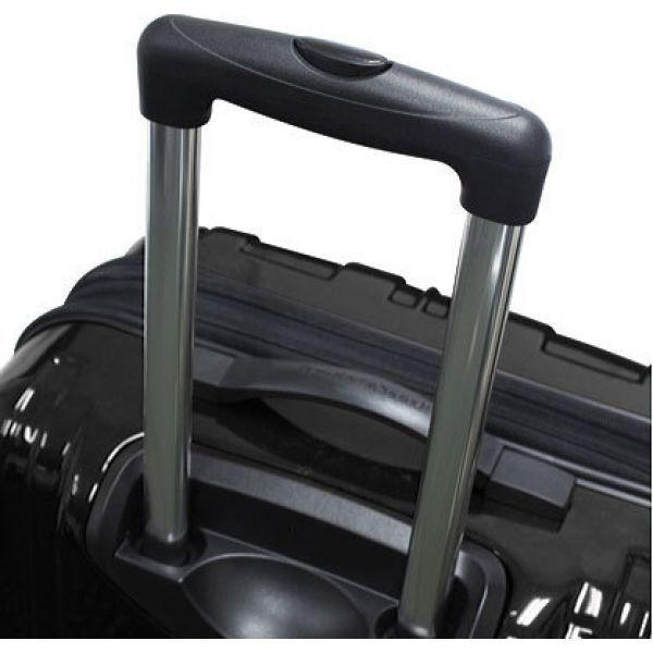 """トラベラーズチョイス メンズ スーツケース・キャリーバッグ バッグ Sedona 25"""" Expandable Spinner Luggage Black"""