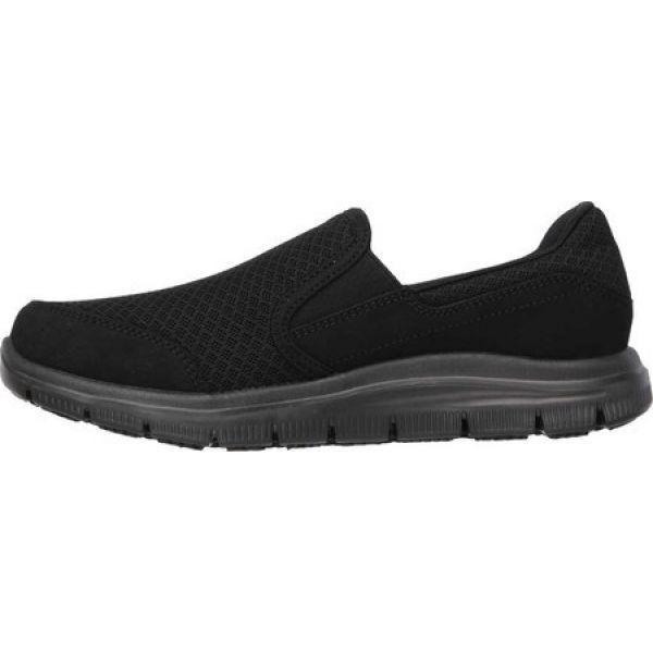 スケッチャーズ レディース スリッポン・フラット シューズ・靴 Work Relaxed Fit Cozard Slip Resistant Slip On Black