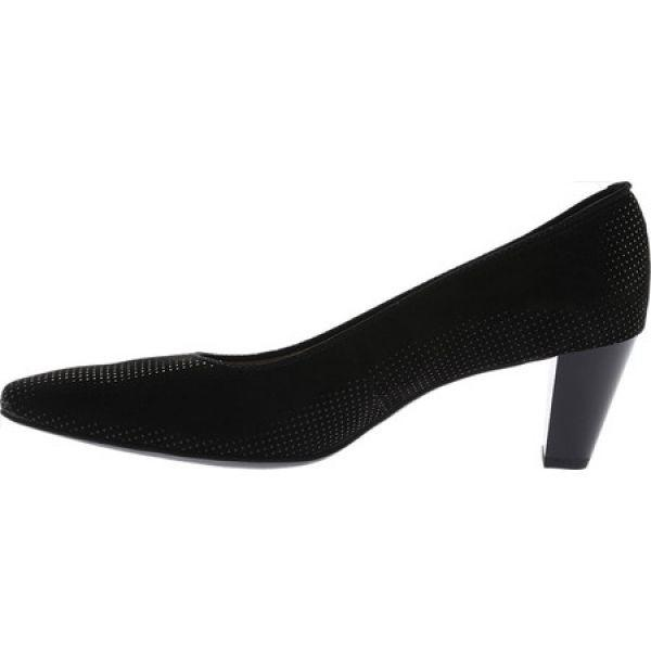 アラ レディース パンプス シューズ・靴 Paulina 32861 Pump Black Puntikid Leather