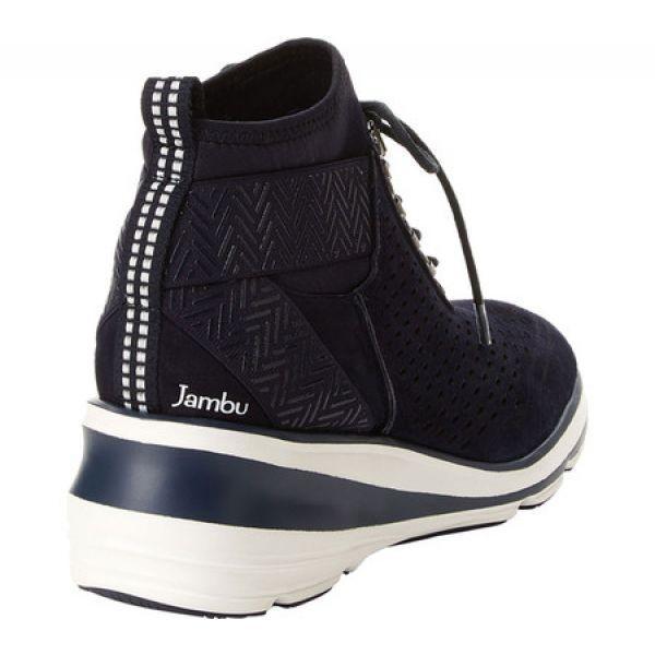 ジャンブー Jambu レディース スニーカー シューズ・靴 Offbeat Encore Sneaker Navy Kid Suede/Neoprene/Elastic