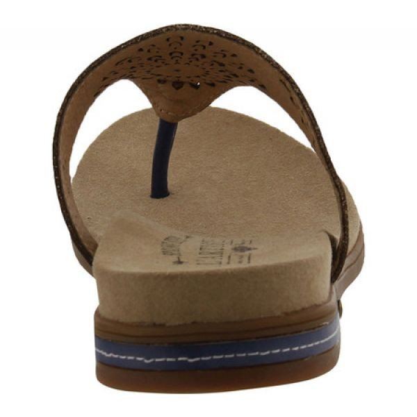 スプリングステップ L'Artiste by Spring Step レディース ビーチサンダル シューズ・靴 Mayura Thong Sandal Blue Leather