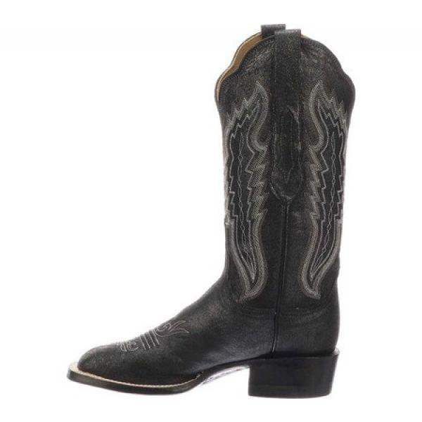 ルケーシー レディース ブーツ シューズ・靴 Cl8009.W8 Toe Cowgirl Boot Silver Leather