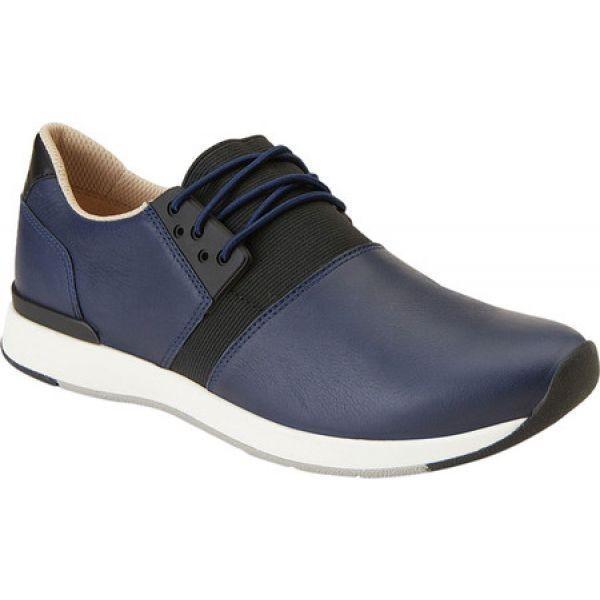 バイオニック Vionic レディース スニーカー シューズ・靴 Carmen Sneaker Navy Leather