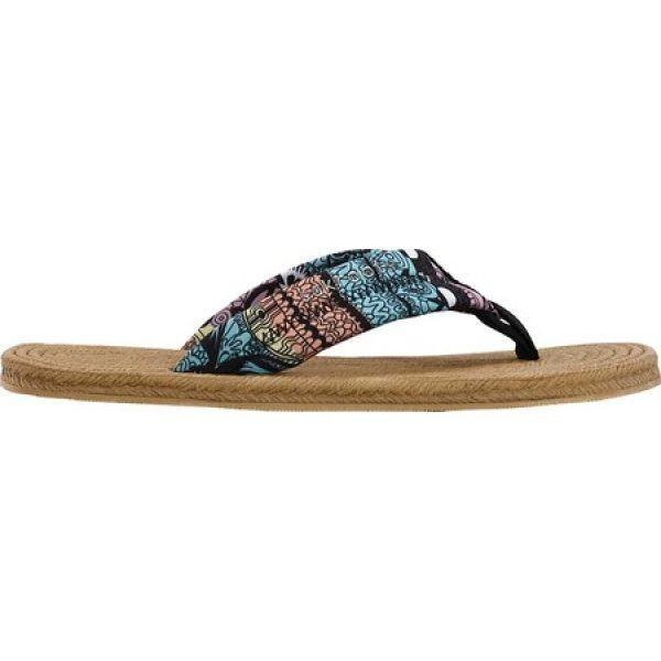 サックルーツ Sakroots レディース ビーチサンダル シューズ・靴 Elba Flip Flop Sherbet One World