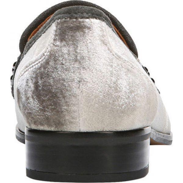 フランコサルト Sarto by Franco Sarto レディース ローファー・オックスフォード シューズ・靴 Johanna Loafer Nimbus Grey Velvet