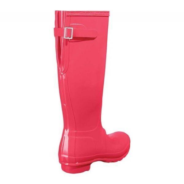 ハンター Hunter レディース レインシューズ・長靴 シューズ・靴 Original Back Adjustable Gloss Rain Boot Flare