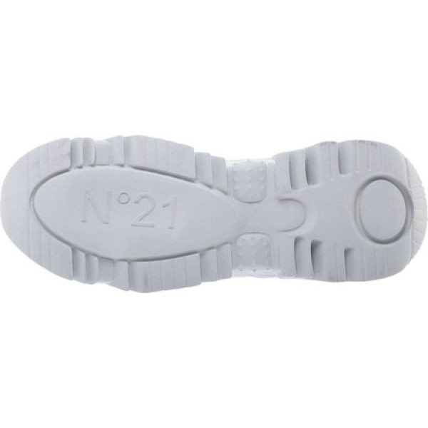 ヌメロ ヴェントゥーノ NO. 21 レディース スニーカー シューズ・靴 Calfskin Lace Up Sneaker White Calfskin