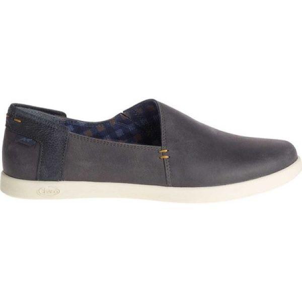 チャコ Chaco レディース スリッポン・フラット シューズ・靴 Ionia Leather Slip On Denim Full Grain Leather