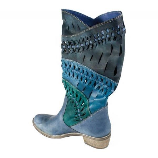 サミット ホワイト マウンテン Summit White Mountain レディース シューズ・靴 Tulia Blue/Multi Suede/Italian Leather