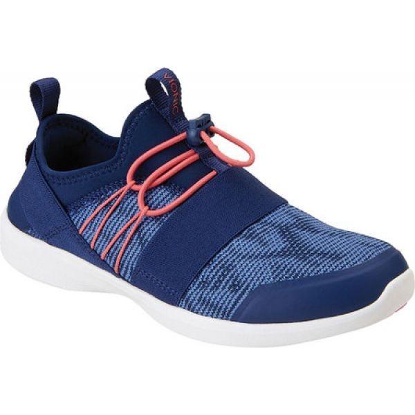 バイオニック Vionic レディース スニーカー シューズ・靴 Alaina Sneaker Navy Textile/Manmade