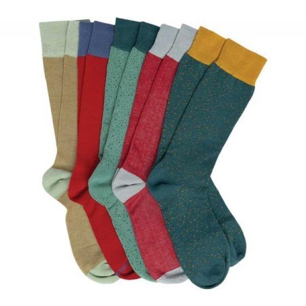 デッドソクシー DeadSoxy メンズ ソックス インナー・下着 Dress Sock (5 Pack) Multicolor Bundle #1|fermart-shoes