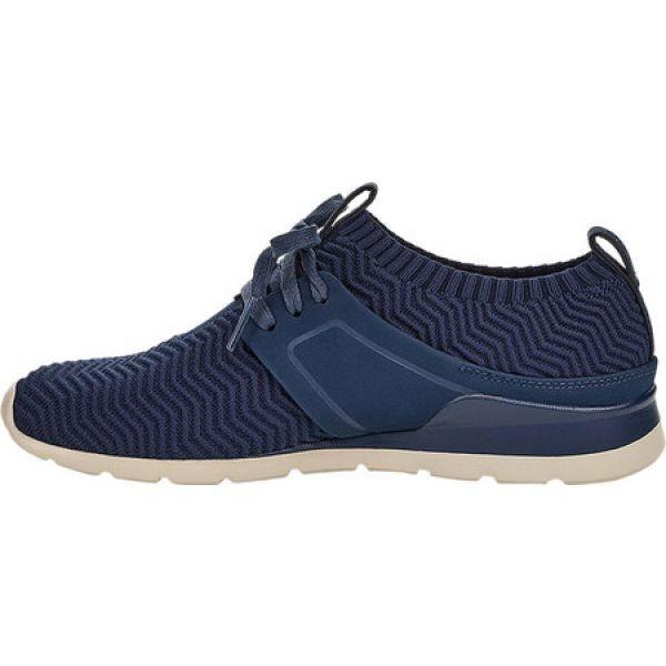 アグ UGG レディース スニーカー シューズ・靴 Willows Sneaker Navy Knit