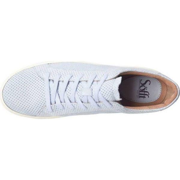 ソフト Sofft レディース スニーカー シューズ・靴 Somers Tie Sneaker Cloud Blue Glitter Suede
