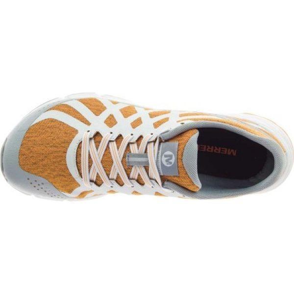 メレル Merrell レディース スニーカー シューズ・靴 Bare Access Flex Trainer Flame Orange Mesh
