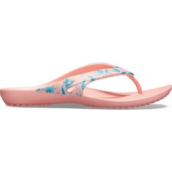 クロックス Crocs レディース ビーチサンダル シューズ・靴 Kadee II Seasonal Flip Flop Tropical/Melon