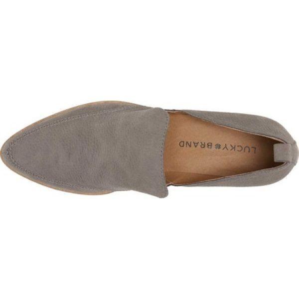 ラッキーブランド Lucky Brand レディース ローファー・オックスフォード シューズ・靴 Mahzan Loafer Titanium Mainz Nubuck