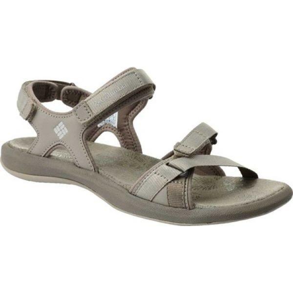 コロンビア Columbia レディース サンダル・ミュール シューズ・靴 Kyra III Ankle Strap Sandal Silver Sage/Fawn|fermart-shoes