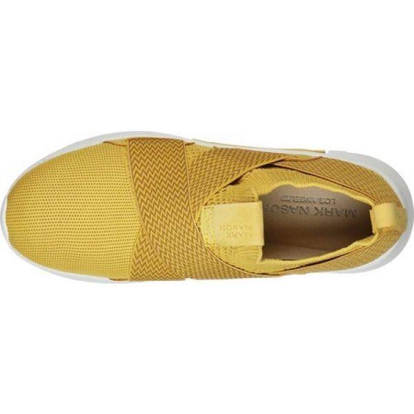 マークネイソン Mark Nason Los Angeles レディース スリッポン・フラット シューズ・靴 Modern Jogger Ziggy Slip-On Sneaker Yellow