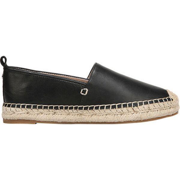 サム エデルマン Sam Edelman レディース エスパドリーユ シューズ・靴 Khloe Espadrille Slip On Black Leather