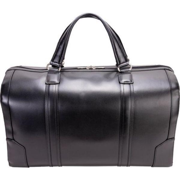 マックレーン McKlein レディース ボストンバッグ・ダッフルバッグ バッグ Kinzie Leather Duffel Black