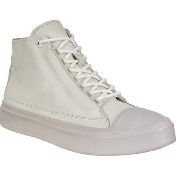エコー ECCO レディース シューズ・靴 Flexure T-Cap High Top Shadow White Leather