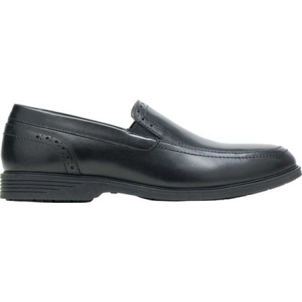 ハッシュパピー メンズ スリッポン・フラット シューズ・靴 Shepsky Slip-On Black Full Grain Leather fermart-shoes 02