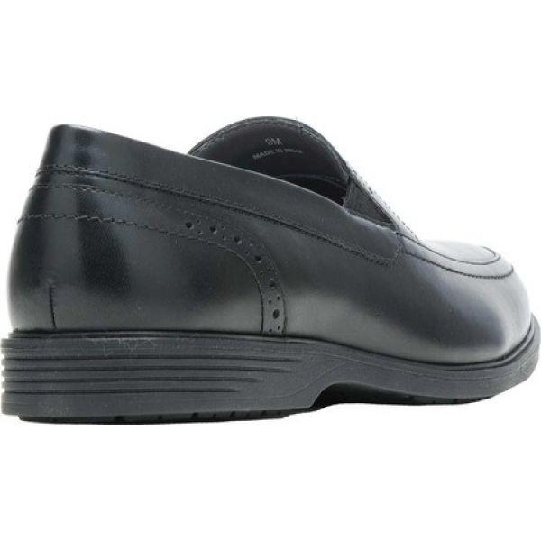 ハッシュパピー メンズ スリッポン・フラット シューズ・靴 Shepsky Slip-On Black Full Grain Leather fermart-shoes 03