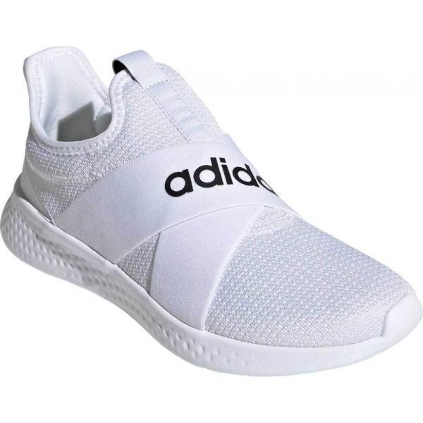 アディダス adidas レディース ランニング・ウォーキング スニーカー シューズ・靴 Puremotion Adapt Running Sneaker FTWR White/Core Black/Dove Grey