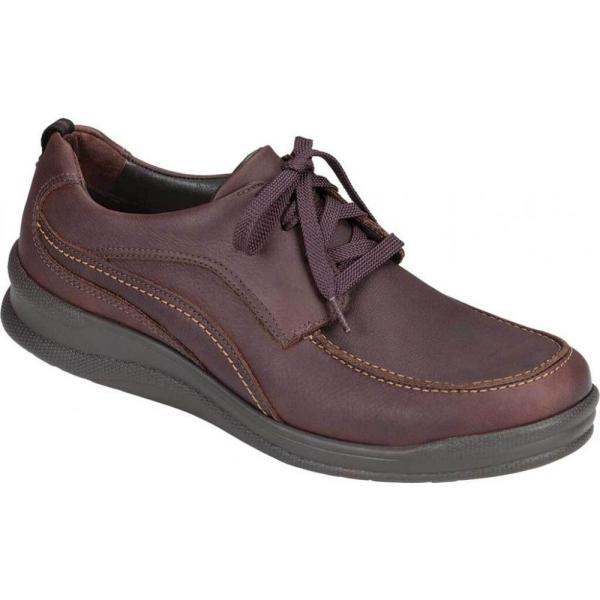 サス SAS メンズ ランニング・ウォーキング シューズ・靴 Move On Walking Shoe Brown Leather